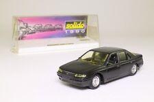 Solido 1516; Peugeot 605 Sedan; Black; 1:43 Scale, Excellent Boxed