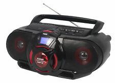 Naxa NPB-273 Portable Bluetooth CD Cassette Player