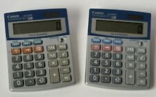 Two (2) Canon Office Products Ls100Ts Business Calculators
