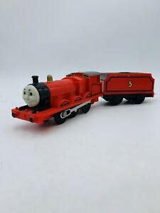 "**STICKER WEAR TOMY Trackmaster Thomas & Friends ""JAMES"" 2002  Motorized Train"