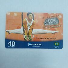 New listing Gymnastics Olympic Games Phone Card Telemar Brazil
