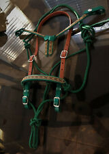 NEW Ride-Tie Snap Add-On Endurance Futurity halter bridle headstall Biothane