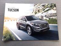 2016 Hyundai Tucson 12-page Original Car Sales Brochure Catalog