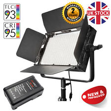 VNIX1000S Battery LED Video Lighting Dimmable Location Lights Interview 5500K