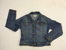 Kids Old Navy Stretch Extensible Blue Jean Denim Jacket Youth Large 10 / 12