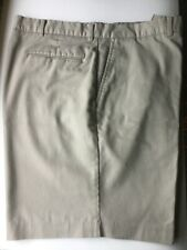 DAVID TAYLOR MENS CLASSIC FIT SHORTS   TAN  BEIGE    SIZE 36-38