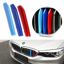 ///M-Colored Grille Insert Trims For 17-20 BMW G30/G31 5 Series w/ 9-Beam Grill