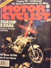 Motor Cyclist Magazine Starship Katana December 1981 092217nonrh