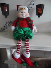 70cm ELF Christmas Decoration Plush Soft Sitting Shelf Fireplace 8745