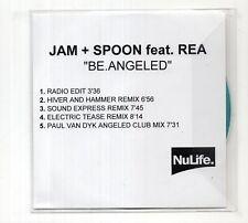 (JC745) Jam & Spoon, Be Angeled ft Rea - 2002 DJ CD