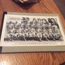 1939 ST. PAUL BASEBALL CLUB  STATIO WTCN WHEATIES AND MOBILOIL - MOBILGAS