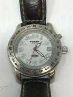 Fossil DRT DT-4031 Men's Watch Date Illuminating New Battery Runs Great