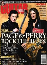 Guitar World Magazine April 2004 - Jimmy Page & Joe Perry Rock the Blues