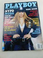 August 1994 Playboy magazine NYPD  Maria Checa Deion Sanders