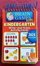 Brain Games Kids Kindergarten Write-and-Erase Activity, children, educational