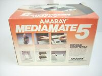 "Amaray Media Mate 5.25"" Disk Storage Holder Box Container 50 Diskettes NEW"