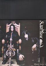 SATYRICON - black lava in the north LP blue vinyl