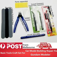 Basic Tools Craft Set Car Model Building Repair Fix Kit For Gundam Modeler Tool