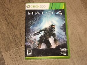 Halo 4 Xbox 360 Complete CIB Authentic