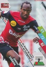 EAG-05 JEREMY SORBON # GUINGAMP CARD ADRENALYN FOOT 2015 PANINI
