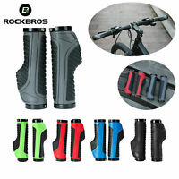 RockBros Cycling Bicycle Handlebar Grips Double Locking Non-slip Grips 22.2mm