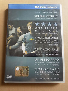 "DVD ""THE SOCIAL NETWORK"" 2 DISCHI 2011"