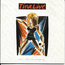 COFFRET 2 CD 28T TINA TURNER LIVE IN EUROPE DE 1988 CDS 7 90126 2. TBE