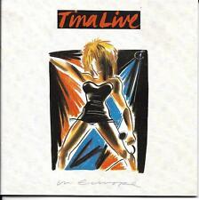 COFFRET 2 CD 28T TINA TURNER LIVE IN EUROPE DE 1988 CDS 7 90126 2. TBE