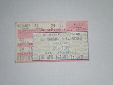 Bon Jovi & Cinderella Concert Ticket Stub-1987-Slippery When Wet-Nassau Coliseum
