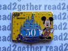 Disney Pin Mickey AAA Disneyland 50th Anniversary