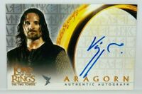 The Lord of The Rings Two Towers LOTR Viggo Mortensen As Aragorn Autograph Card