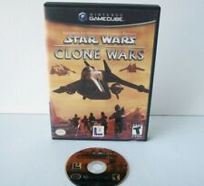 Star Wars The Clone Wars (Nintendo GameCube) Game Case Attack Clones Jedi Tank