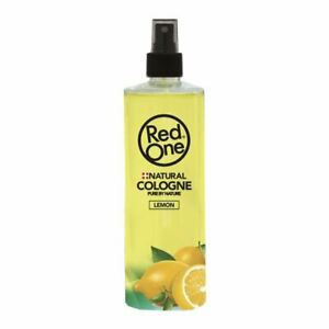Red One Natural Lemon Cologne Pure By Nature 400ml