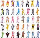 New Fancy Dress Cosplay Onesie Adult Unisex Hooded Pyjamas Animal Sleepwear