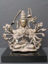 Imposant Bronze du Népal, Chandi
