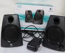 Logitech z130 Stereo Speakers w/ Original Box  for Laptop, PC, Tablet, Cellphone