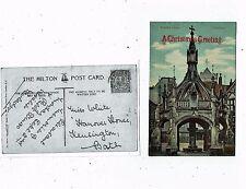 POST CARD OF POULTRY CROSS SALISBURY