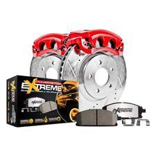 For Chevy Silverado 1500 Classic 07 Brake Kit Power Stop 1-Click Extreme Z36