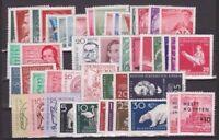 DDR Jahrgang 1956 , postfrisch , Auswahl aus Michel Nr. 510 - 558