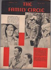 THE FAMILY CIRCLE VOL. 24 NO. 6 / FEB 11, 1944 (FN+) ROBERT TAYLOR ON COVER
