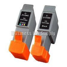 2 PACK Ink BCI-24 CANON i250 i320 i450 i455 i470D S330
