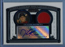 Dustin Pedroia 2005 Bowman Sterling Certified Auto Patch Card #BS/DP