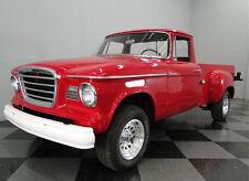Tomte Laerdal 1:30 STUDEBAKER CHAMP 1962 PICK-UP Truck YELLOW Vinyl PVC Car NM!