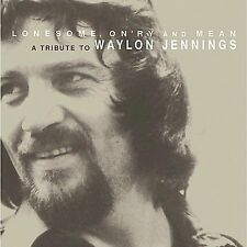 Lonesome OnryMean Tribute Waylon Jennings CD 2003 Dualtone Norah Jones Jr Brown