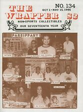 THE WRAPPER #134: FIGHT RED MENACE Star Wars MARS ATTACKS Hammer OCT-NOV 1995