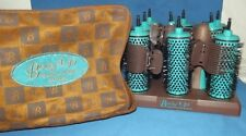 BODY UP PRO BRUSH PANACHE HAIR STYLING SET SMALL MEDIUM 9 ROLLERS CLIPS KIT NEW