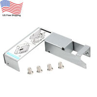 """9W8C4 Y004G 3.5"""" to 2.5"""" SAS/SATA Tray Caddy Adapter for Dell F238F R730 R720"""