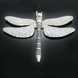 Large Dragonfly Pendant Necklace ladies womens girls gift jewellery UK SELLER