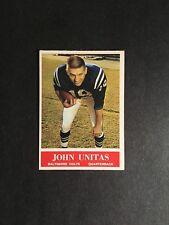 1964   PHILA  FOOTBALL  #12  JOHNNY  UNITAS   NM++