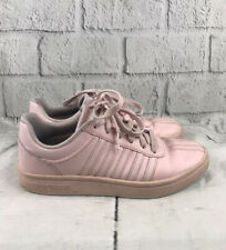 K-Swiss Chesterfield Womens Light Pink Leather Sneakers Athletic Shoes Size 6.5